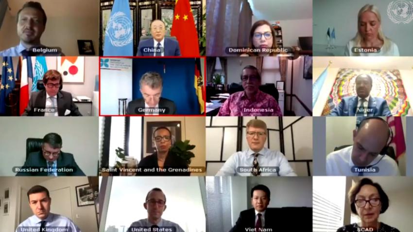 Совет Безопасности ООН призывает к глобальному прекращению огня после того, как США и Китай откладывают переговоры