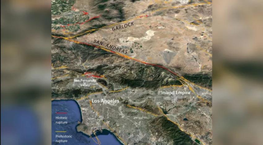 Странные Z-образные разломы могут вызвать сильное землетрясение на разломе Сан-Андреас в Калифорнии