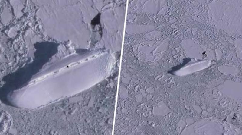 Ноев ковчег или корабль нацистов: у берегов Антарктиды обнаружили таинственное