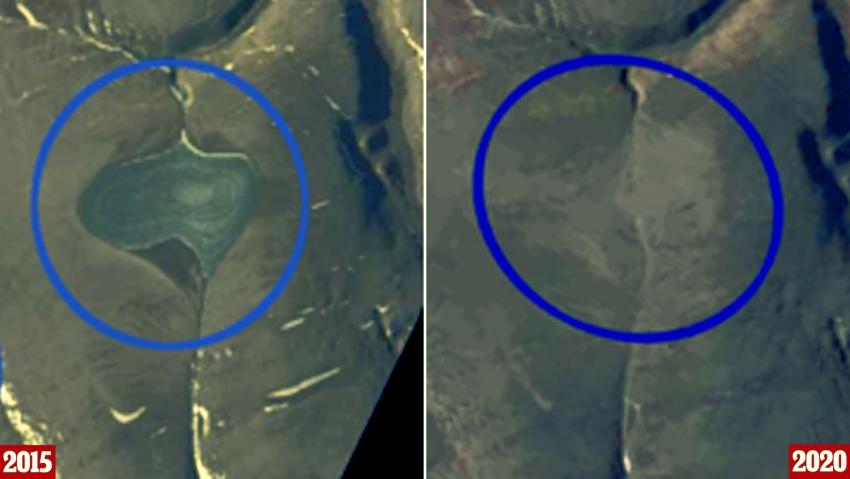 В Арктике всего за пять лет исчезли огромные ледяные шапки