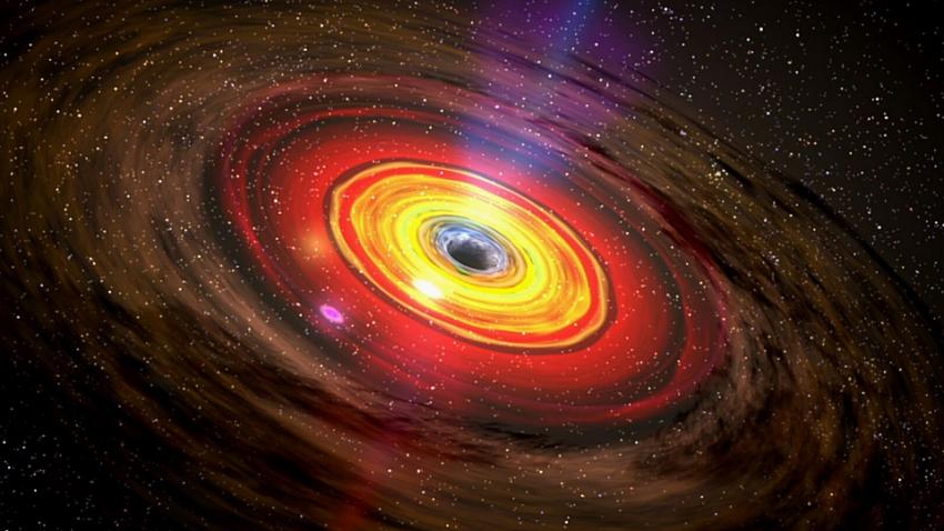 Черная дыра поглотила неизвестный объект, нарушив все законы физики