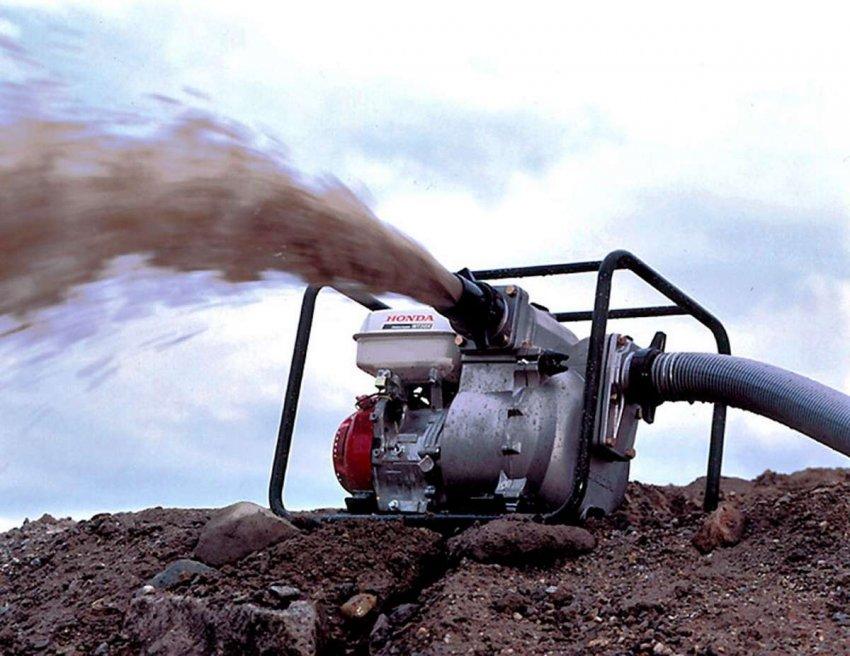 ТОП 10 лучших мотопомп для грязной воды