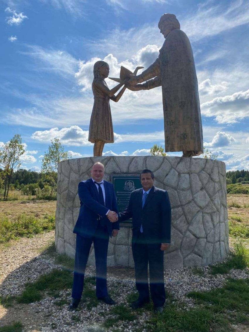 Посол Йемена посетил Международный Парк мира в Тверской области