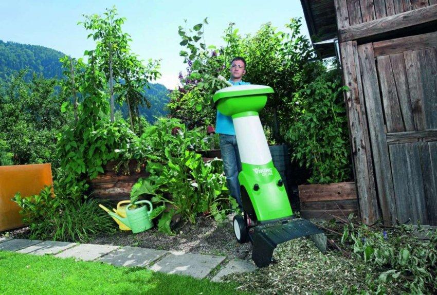 Обзор на лучшие электрические садовые измельчители
