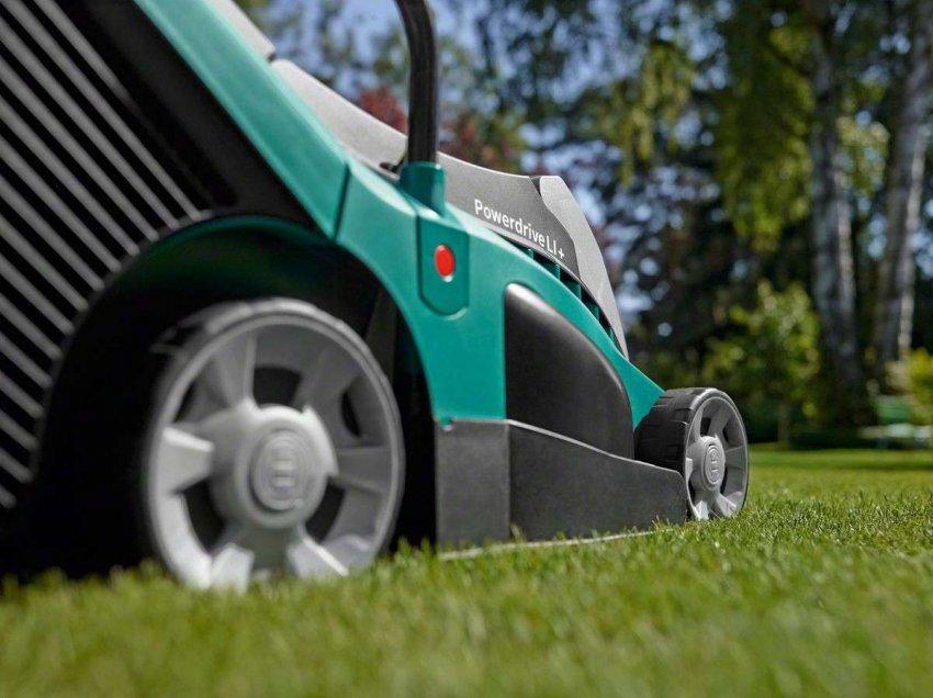 Обзор лучших аккумуляторных электрических газонокосилок