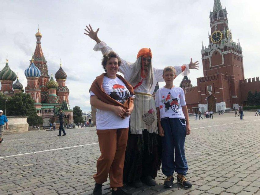 BABA YAGA осуществила мечту Саввы Ярыгина из Челябинска: мальчик первый раз побывал в Москве