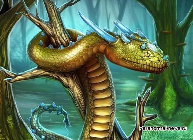 Рогатая змея из мифов американских индейцев может быть реально существовавшим древним животным