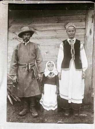 Крестьянская жизнь на Белой Руси