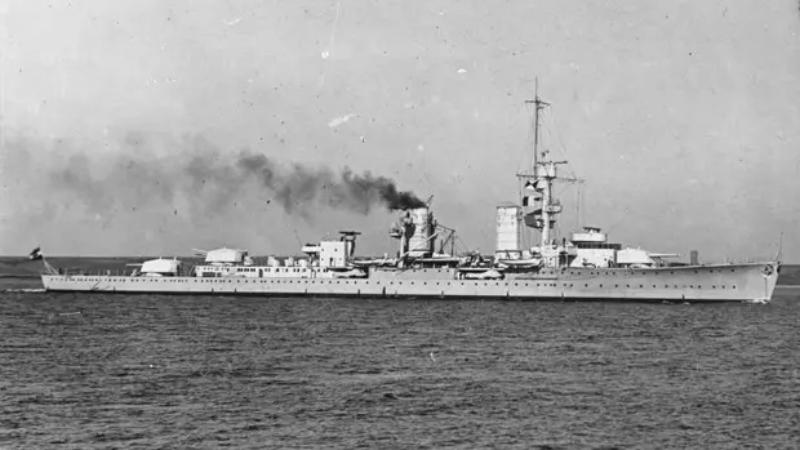 У норвежских берегов обнаружили легендарный фашистский крейсер