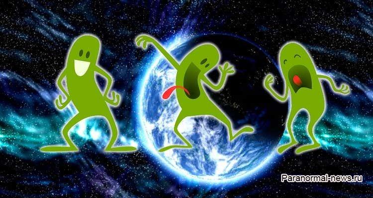 Почему инопланетян называют маленькими зелеными человечками?