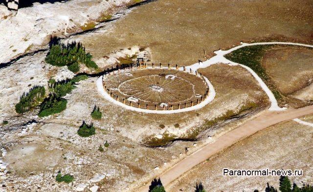 Индейский каменный круг Бигхорн исцеляет от болезней