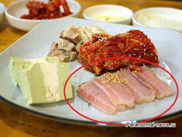 Спорный корейский деликатес, который пахнет как грязный туалет