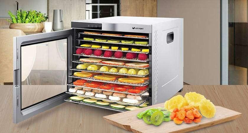 ТОП 10 сушилок для овощей и фруктов