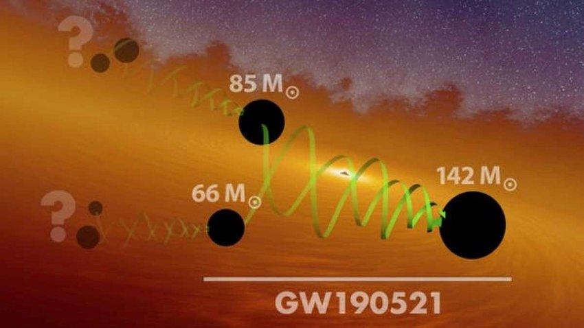 Астрономы из Северо-Западного университета США нашли настолько массивную черную дыру, что не были уверены, что она существует