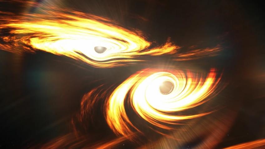 Катаклизм вселенских масштабов: столкновение черных дыр породило огромного «монстра»