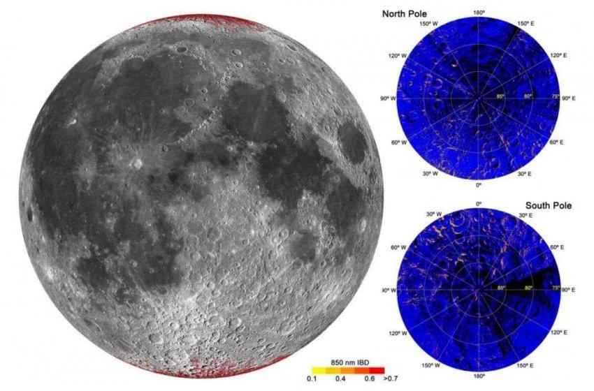 Удивительное открытие: Луна заржавела. За счет кислорода из атмосферы Земли