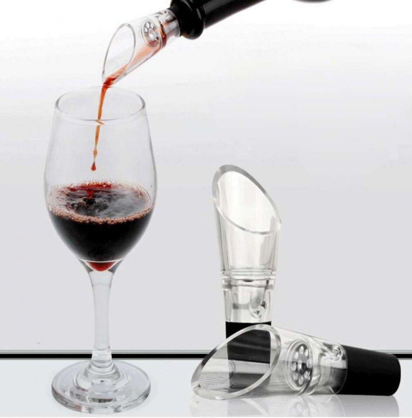 Обзор на лучшие аэраторы для вина