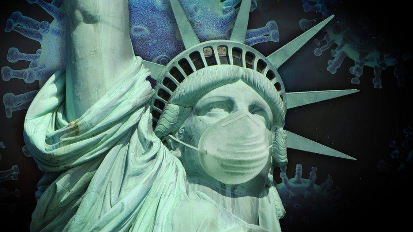 По США распространяется особо заразная мутация COVID-19