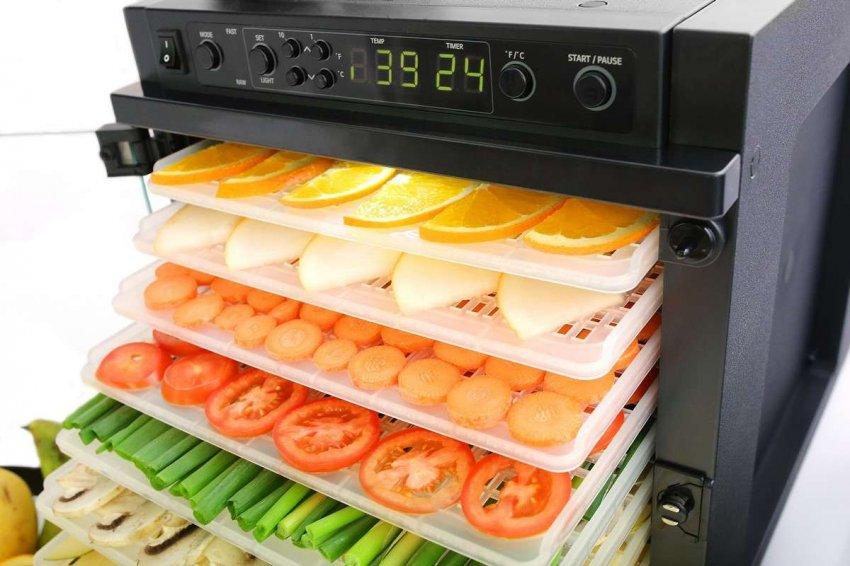 ТОП 10 конвекционных сушилок для овощей и фруктов