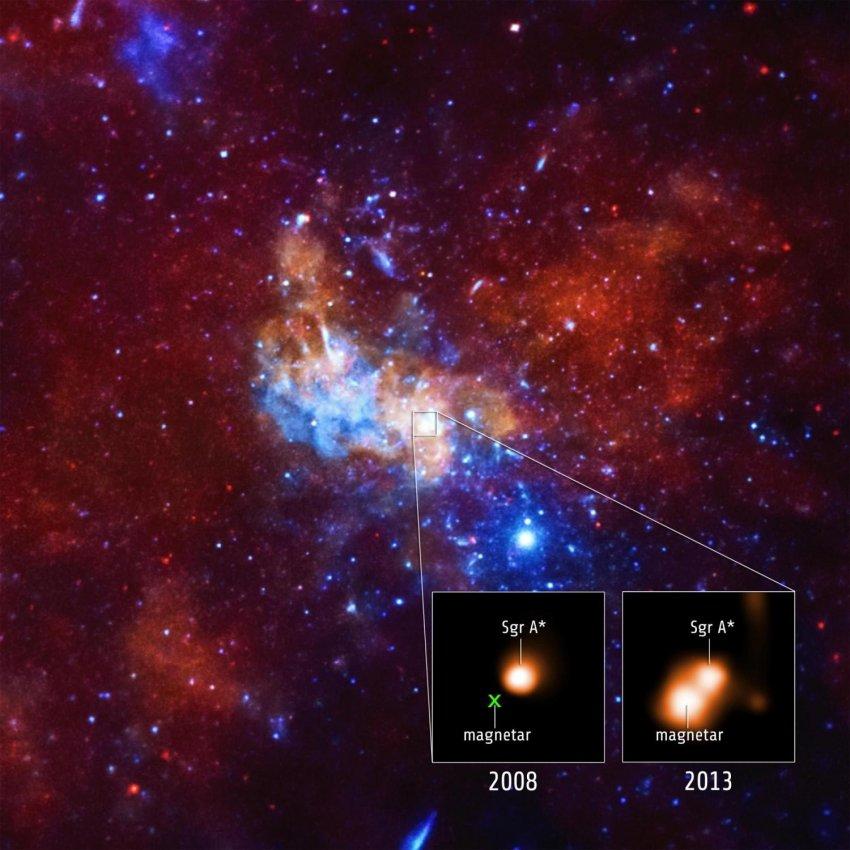 В Млечном Пути обнаружена гипотетическая частица темной материи