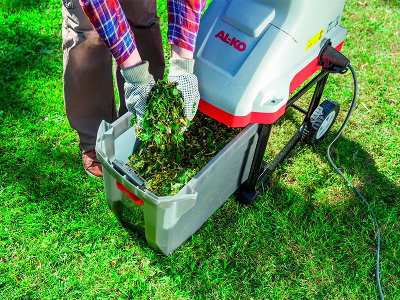 Садовый электрический измельчитель листьев - ТОП 10