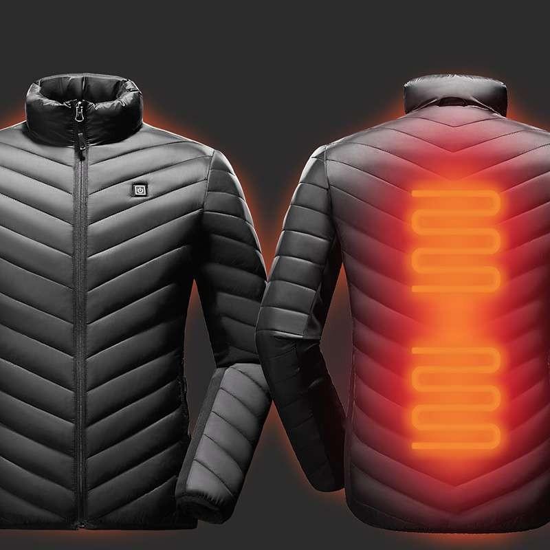 ТОП 10 курток с подогревом