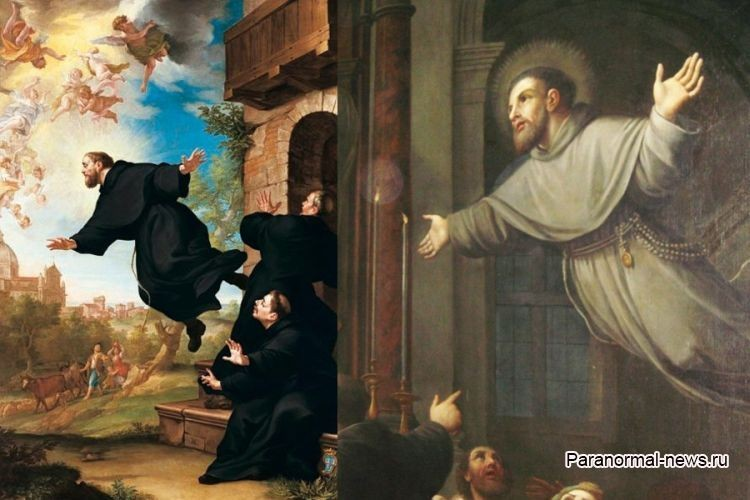 Летающий монах Джузеппе Купертино