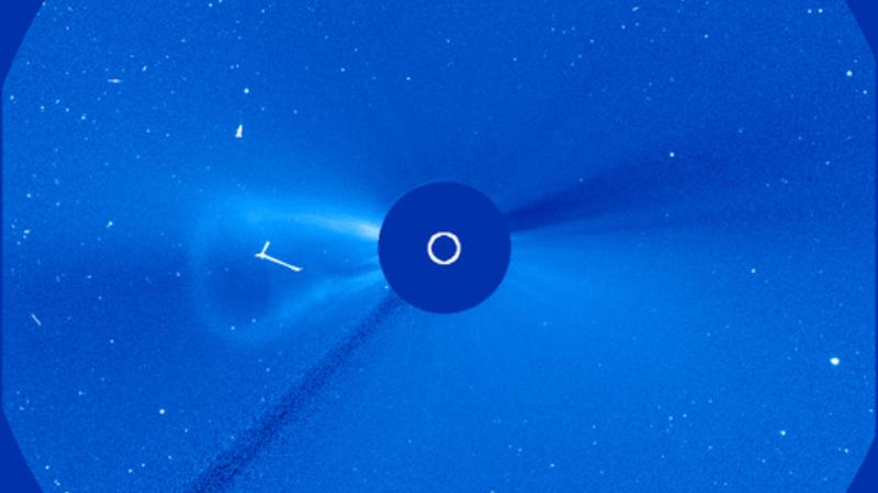 Возле Солнца появился гигантский пузырь: объект запечатлела обсерватория НАСА
