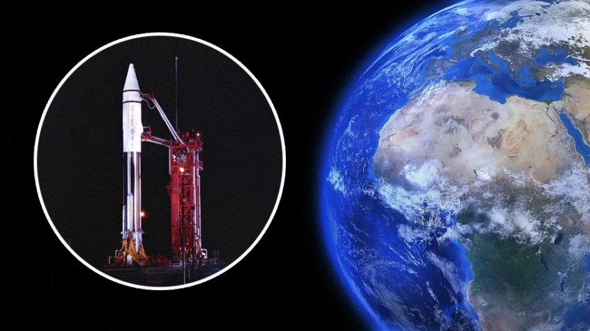 К Земле приближается 54-летний обломок американской ракеты