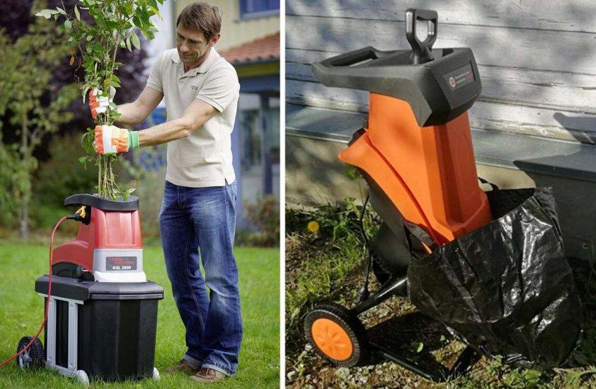 Топ 10 электрических измельчителей для сада