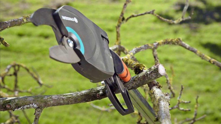 Обзор электрических ножниц для веток