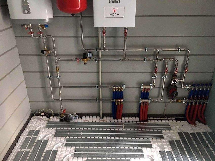 Рейтинг электрических котлов для теплого водяного пола