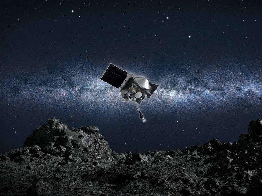 Чрезвычайный успех: зонд OSIRIS-REx взял пробы с астероида Бенну