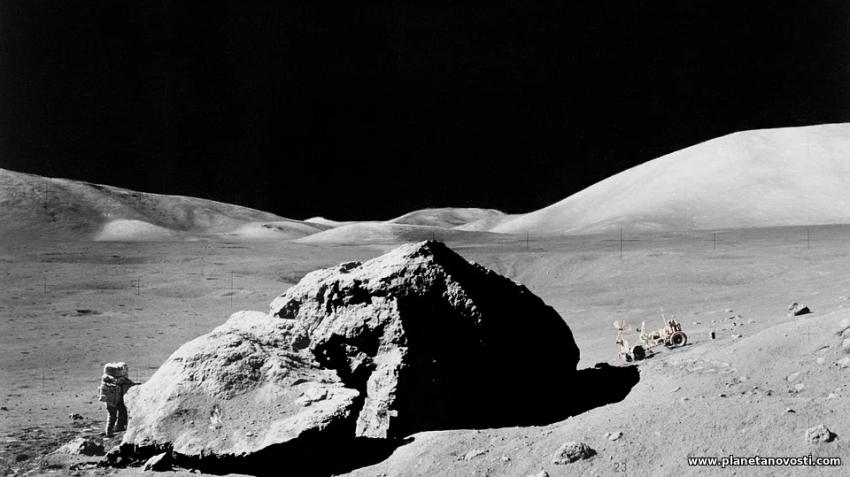 НАСА в понедельник расскажет о «захватывающем открытии» на Луне