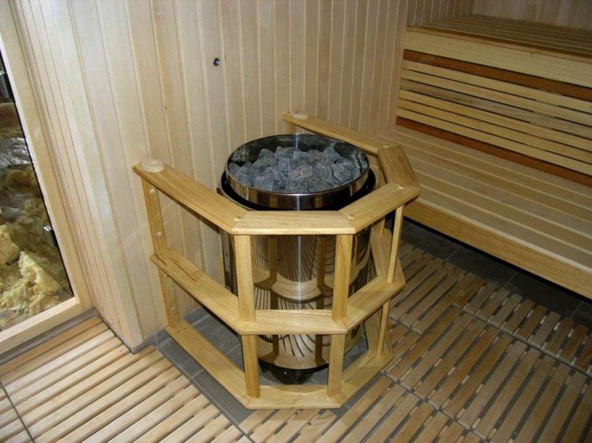 Обзор электрических печей для бани