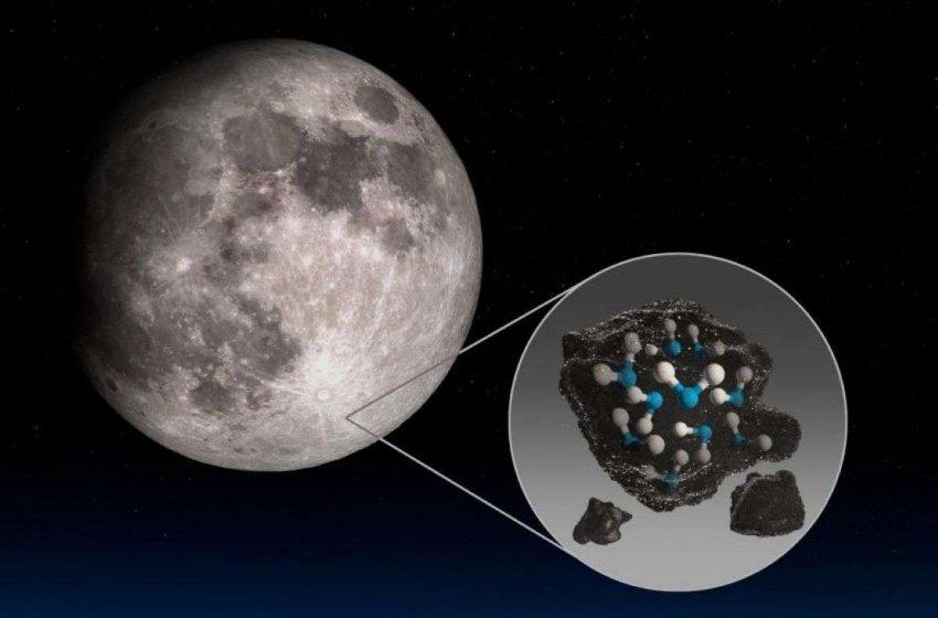 НАСА обнаружило воду на солнечной стороне Луны