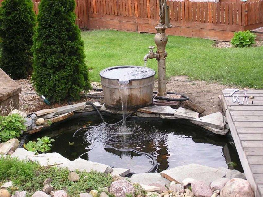 Обзор насосов для фонтана на даче