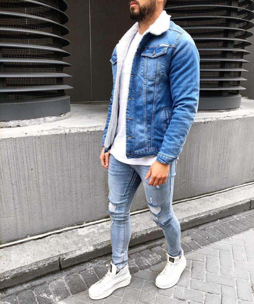 ТОП 10 джинсовых курток для мужчины