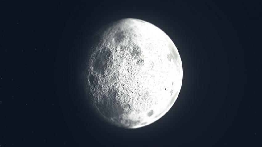 Вода на Луне: в НАСА не могут понять откуда она взялась в умеренных широтах и что ее там удерживает