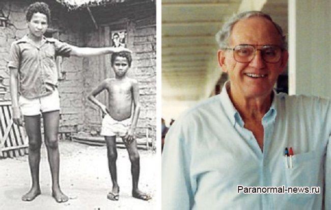 Похищение ребенка пришельцами в джунглях Амазонки