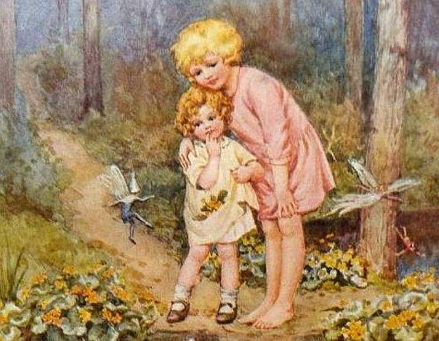 «Когда мы с сестрой были детьми, по ночам мы играли с феями»
