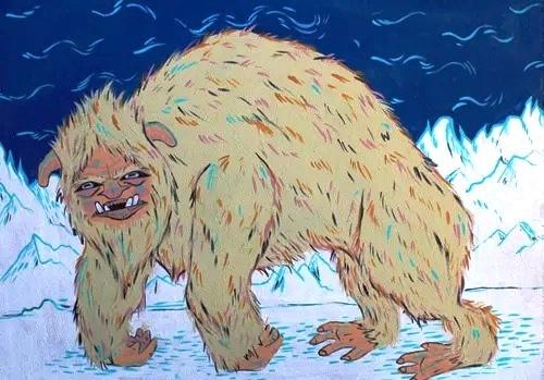 «Помесь белого медведя и барана»: Очень странный монстр из лесов Западной Вирджинии