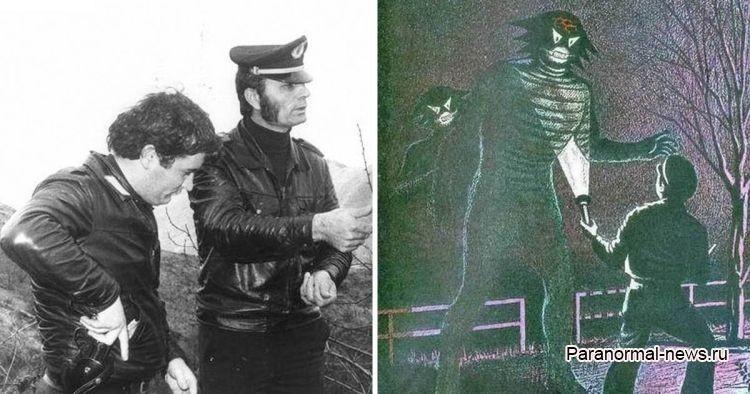 История Занфретты или похищенный рептилоидами в Италии