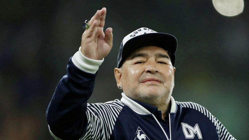 Через восемь дней после операции на головном мозге Диего Марадона выписан из больницы