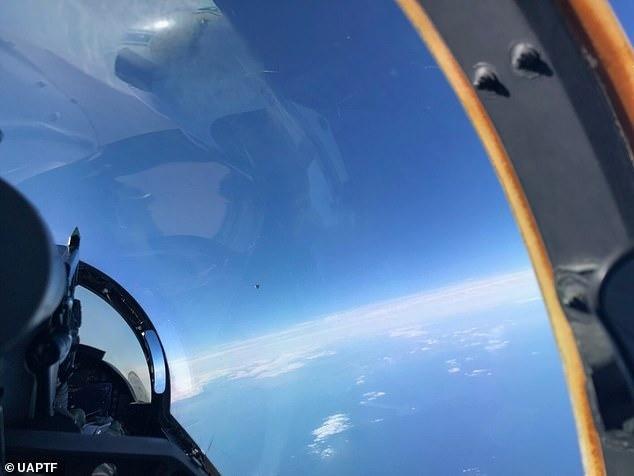 Из Пентагона утекло фото НЛО над Атлантикой, сделанное в 2018 году - Паранормальные новости