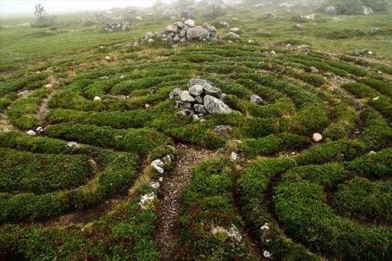 Загадочные каменные лабиринты острова Большой Заяцкий и Гиперборея - Паранормальные новости