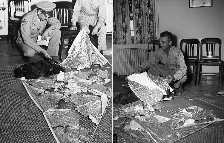 «Сделано не руками человека»: Впервые опубликованы записи офицера, изучавшего странные обломки из Розуэлла - Паранормальные новости