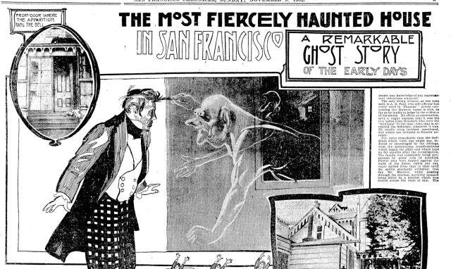 Демонический дом Манроу на Русском холме в Сан-Франциско - Паранормальные новости