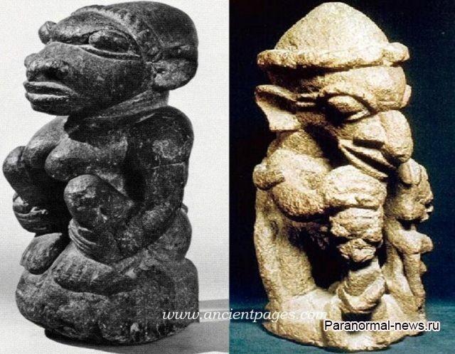 Тайны фигурок Номоли: Чешуйчатые монстры, созданные неизвестной культурой - Паранормальные новости