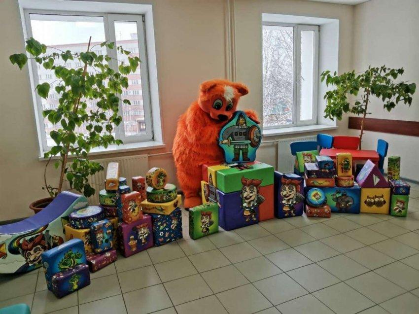 Сказочная вселенная с русскими героями появилась в региональных больницах
